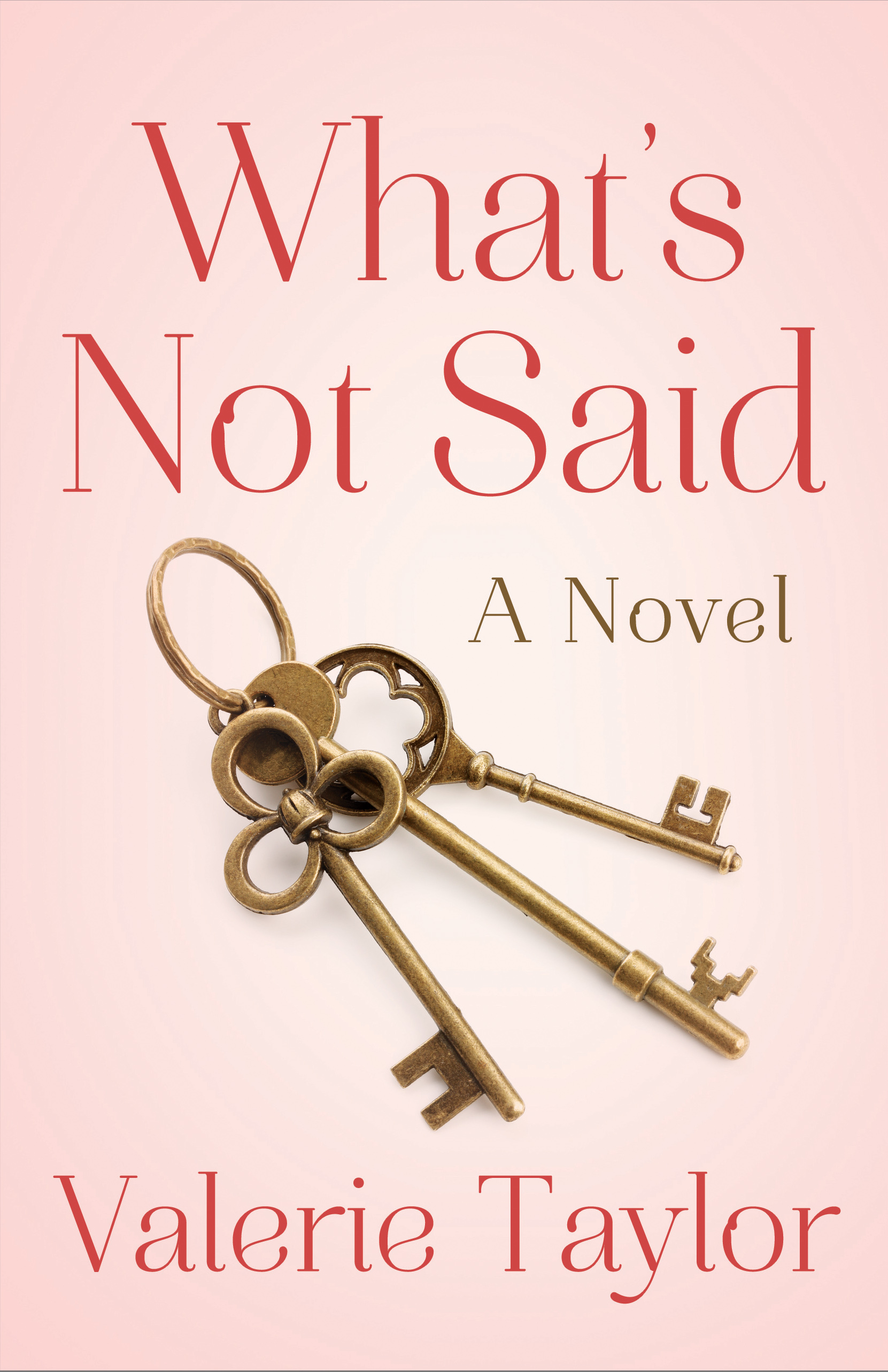 What's Not Said bookcover
